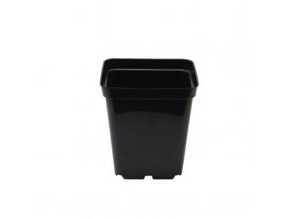 Plastic flowerpot 10x10x11 - 1l. Advantageous package of 100 pcs