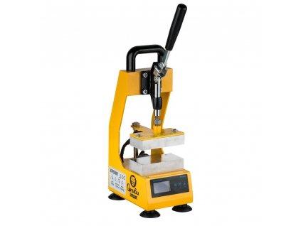 Rosin Press manual press 600kg, heated pressing area 6x12cm