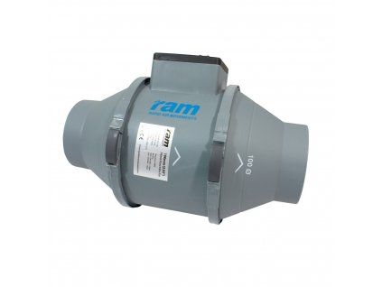 RAM Silent O100mm 165/200 m3/h