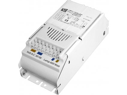 Magnetic ballast ETI UAL 400W with thermal protection