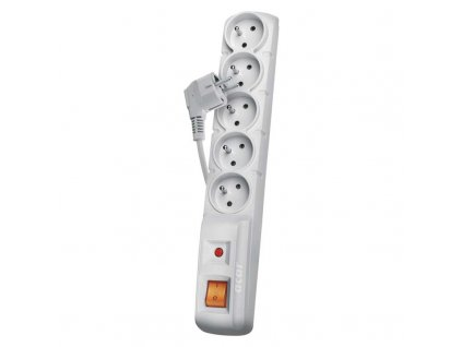 Surge protection 5 sockets 3m 3x 1mm