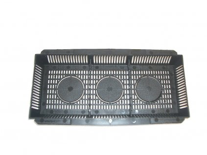 Cover grille for inflow / outflow EBB & FLOW