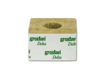 Grodan growing cube 75x75x65mm - hole 42x40mm