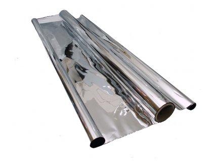 Mylar foil silver reflective 1.4m x 10m x 35mu