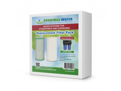 GrowMax Water set of 2 spare filters for Super Grow 800 L / h
