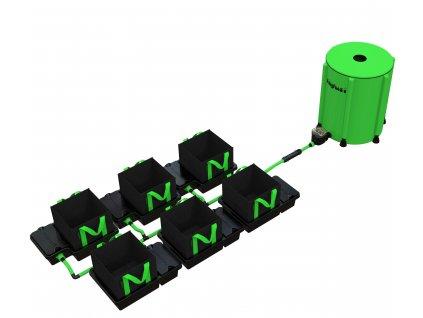 6 Pot 10/16/22/30LTR EasyFeed™ System