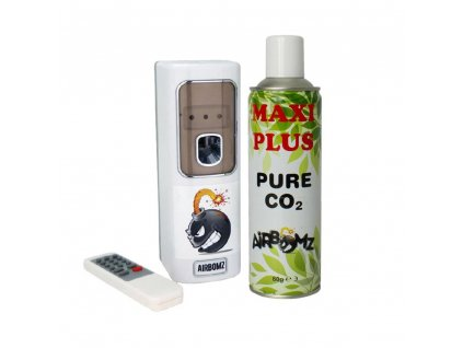 Airbomz CO2 Dispenser with Sensor + CO2 Pressure Bomb