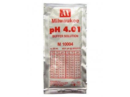 Milwaukee pH 4,01 buffer solution, 20ml