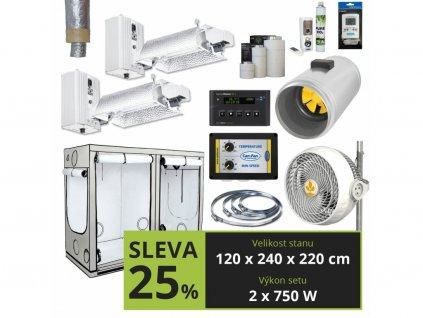 EXPERT Gavita 2x750w + CO2 (120x240x220cm)