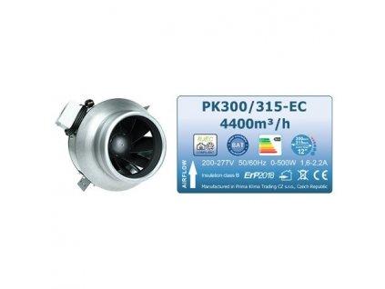 Fan Prima Klima BLUE LINE PK300/315-EC mm, 4400 m3/h + EC motor