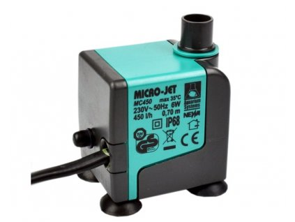 MC 450 micro pump for GN604 & GN901 & 12 plant choppers