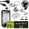 BASIC 250w (60x60x150cm) + 128W Greenception GC4
