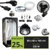 BASIC 250w (60X60X150CM) + Optic 1 XL COB LED