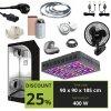 BASIC 400w (90x90x185cm) + Viparspectra V600