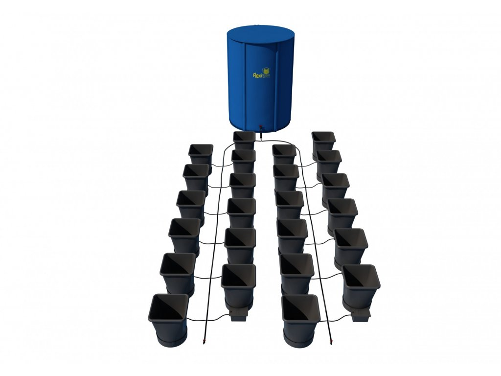 9897 24pot xl system with 400l flexitank