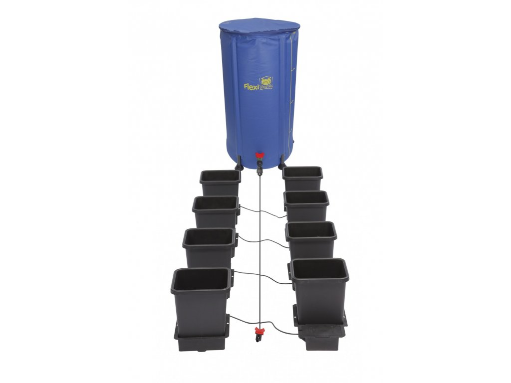 9849 1 8pot system with 100l plastic tank