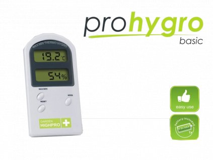 Digital Thermo Hygro meter BASIC without probe