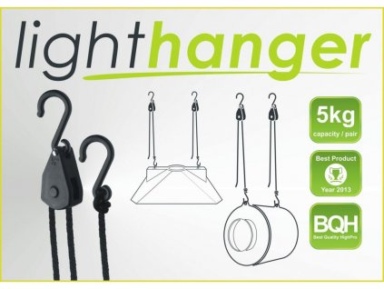 GHP LIGHThanger, suspension system, loading capacity 5kg pair
