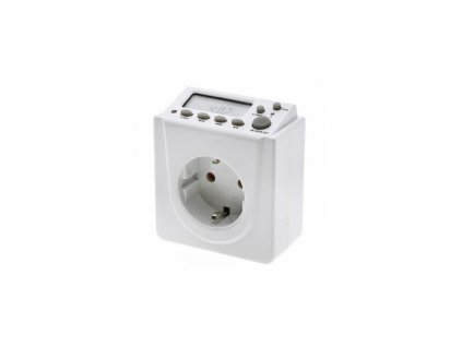 17510 2 lumatek digital timer switch to the socket