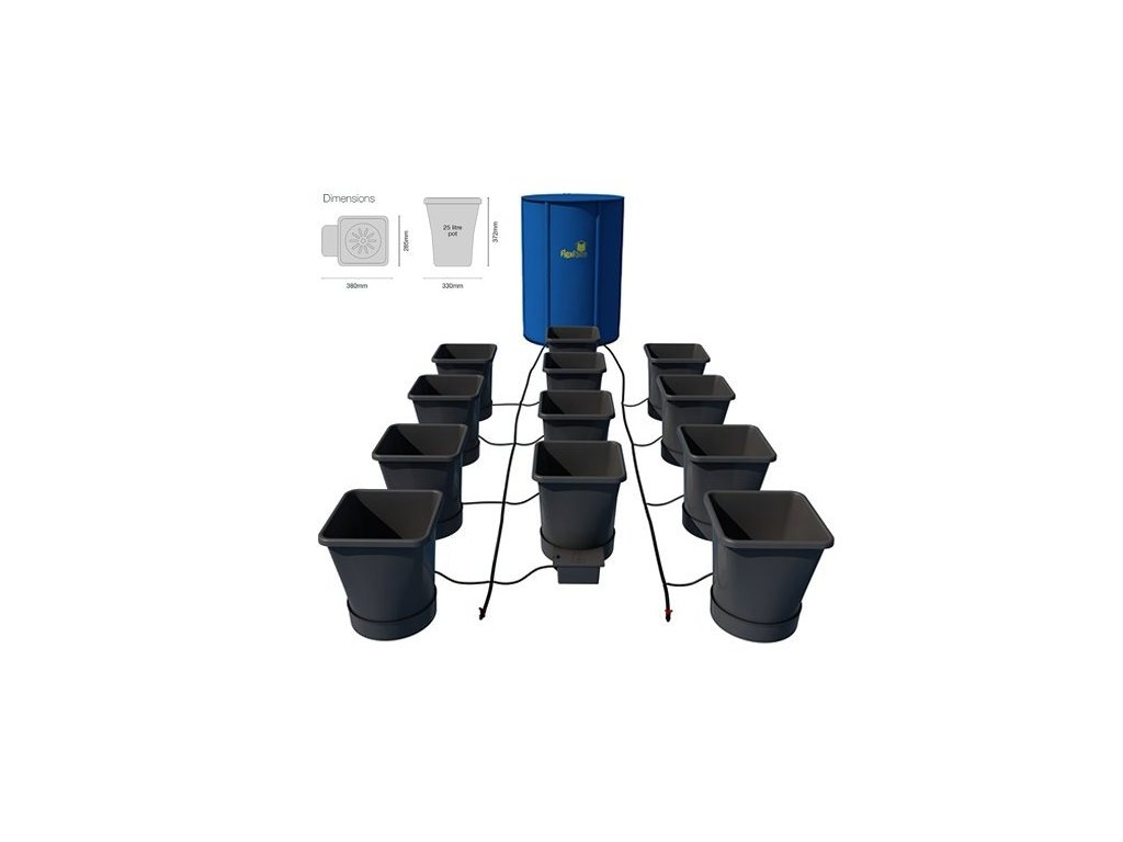 Autopot 1Pot XL Module, with 12 FlowerPots and 225L FlexiTank