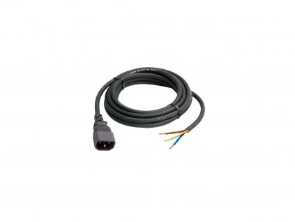 2m Cable with Wires and IEC Male