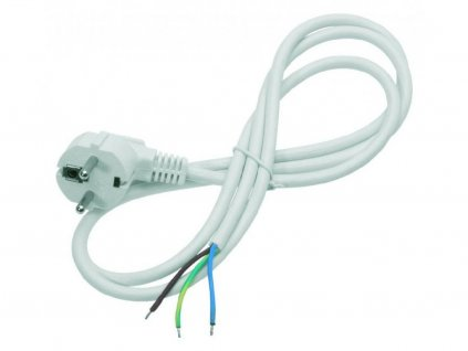 3 m cable with mains plug.
