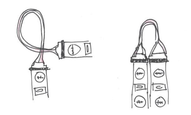 zapojení dvou LED pásků