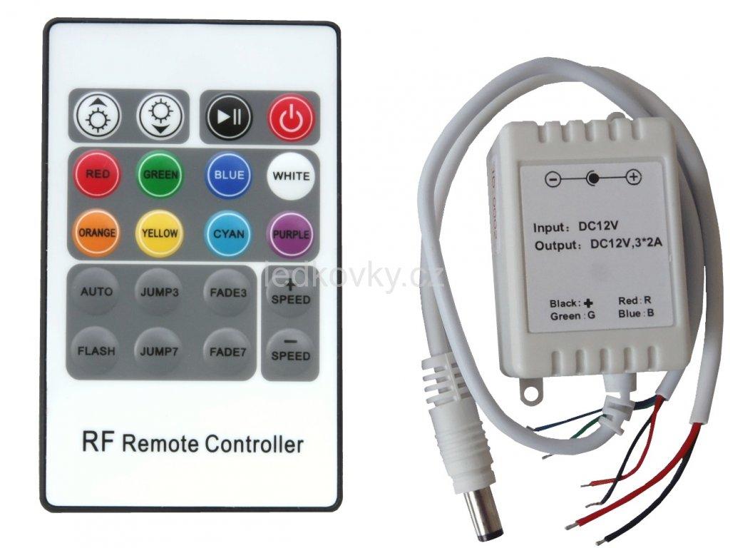 RGB 12VDC 3x2A RF 20T