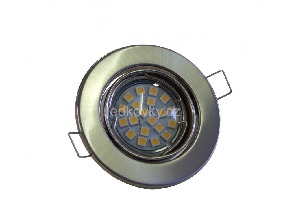 Podhledové svítidlo PR65 výklopné, satin