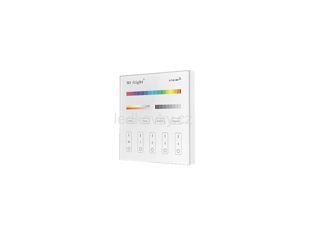RGB Mi panel B4 RGB+W+WW AKU RF