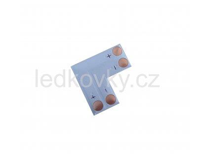 Spojka LED pásků 90° 8mm