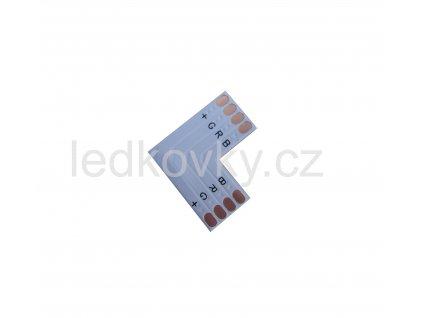 Spojka RGB LED pásků 90°