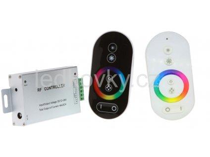 RGB 12 24VDC 3x4A RF Touch B W