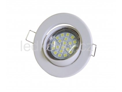 Podhledové svítidlo PR65 výklopné, bílé