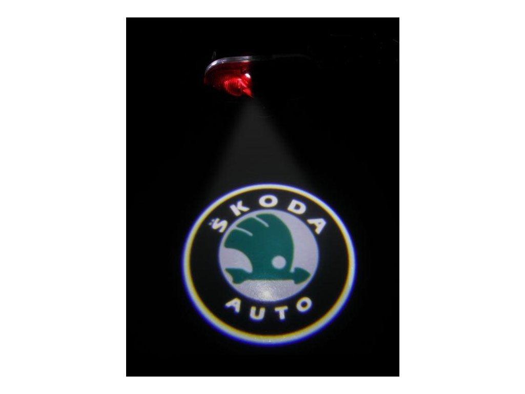 LED logo projektory