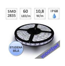 Vodotěsné LED pásky IP68
