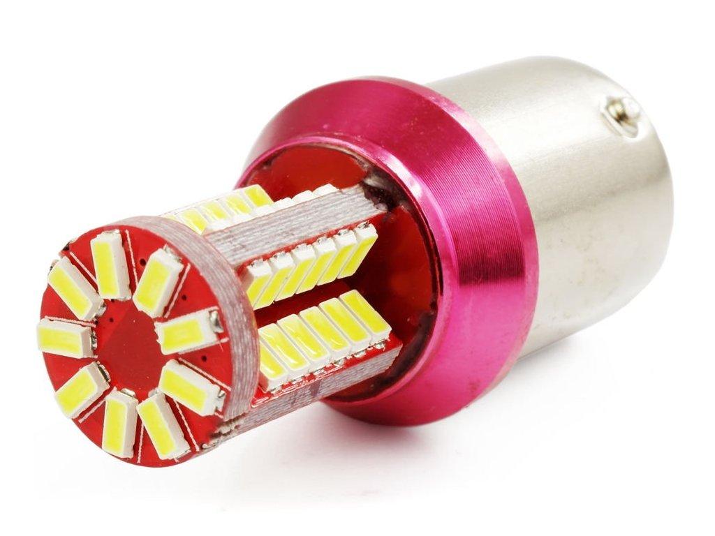 eng pl Car LED Bulb BA15S 57 SMD 3014 1252 2[1]