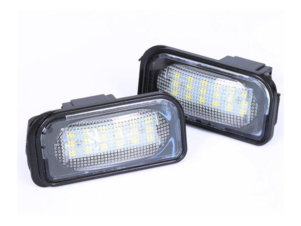 eng pl LP006S28 Mercedes LED license plate light C class W203 Sedan SL class R230 CLK Clasa A209 C209 1566 4[1]