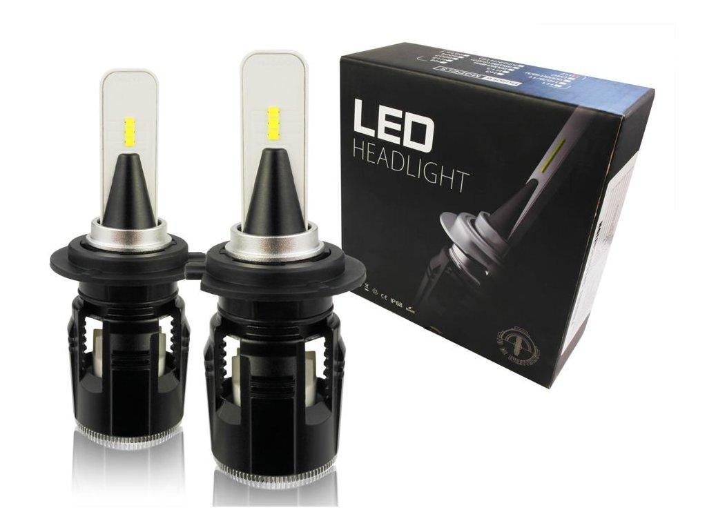 eng pl A set of LED bulbs H7 B6 SEOUL CSP 40W 12000 lm 1229 1[1]