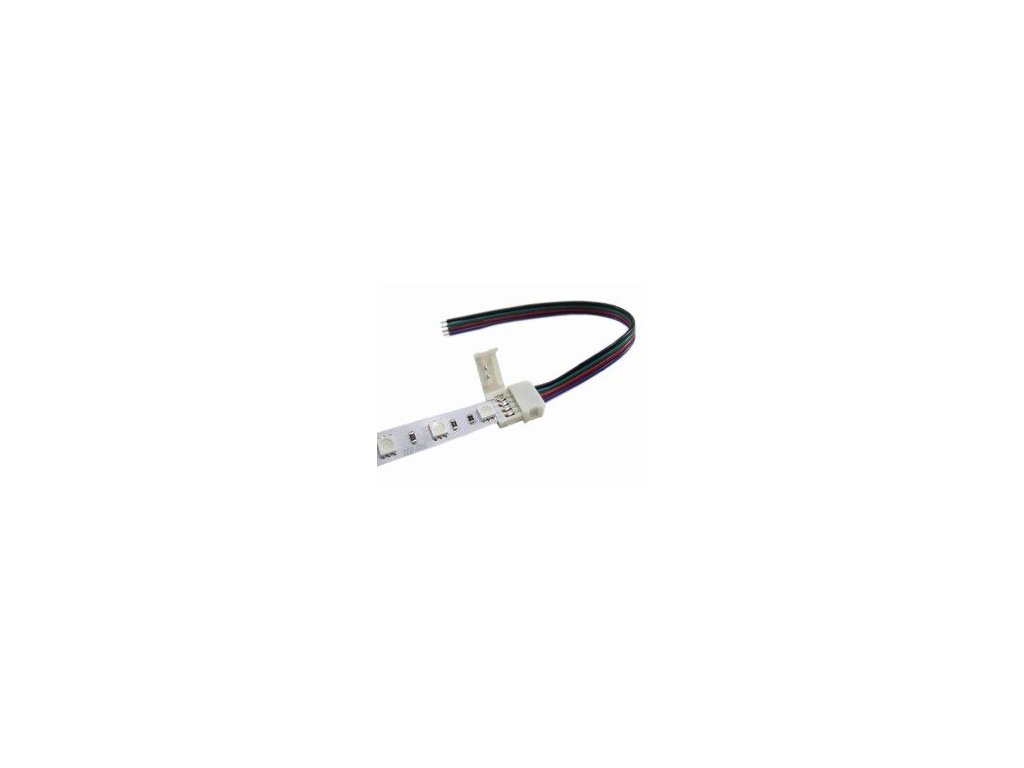 eng pm CLICK single connector for 10mm RGB LED strips 14cm cable 231 1[1]
