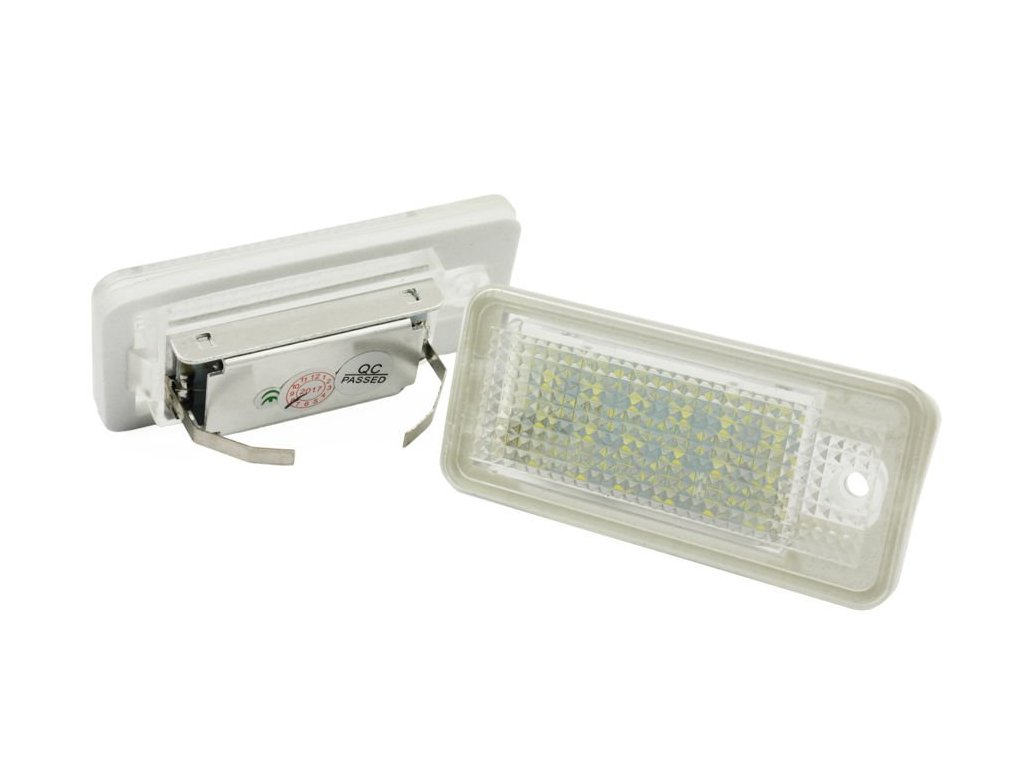 eng pl LHLP015S28 LED license plate illumination Audi A3 S3 A4 S4 A6 S6 A8 S8 RS4 RS6 Q7 451 2[1]