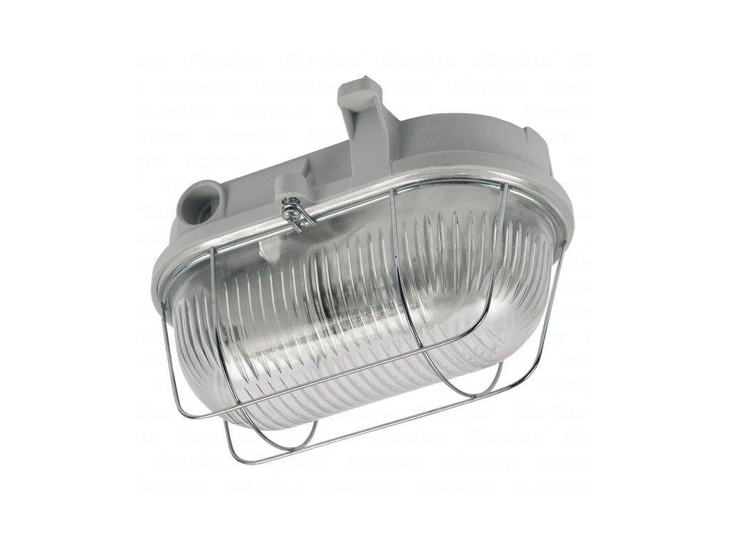 Kanlux 70524 HERMI 7063NB - Prachotěsné průmyslové svítidlo bílé