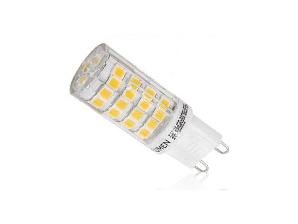Ledspace LED žárovka 5W 51xSMD2835 G9 500lm Teplá