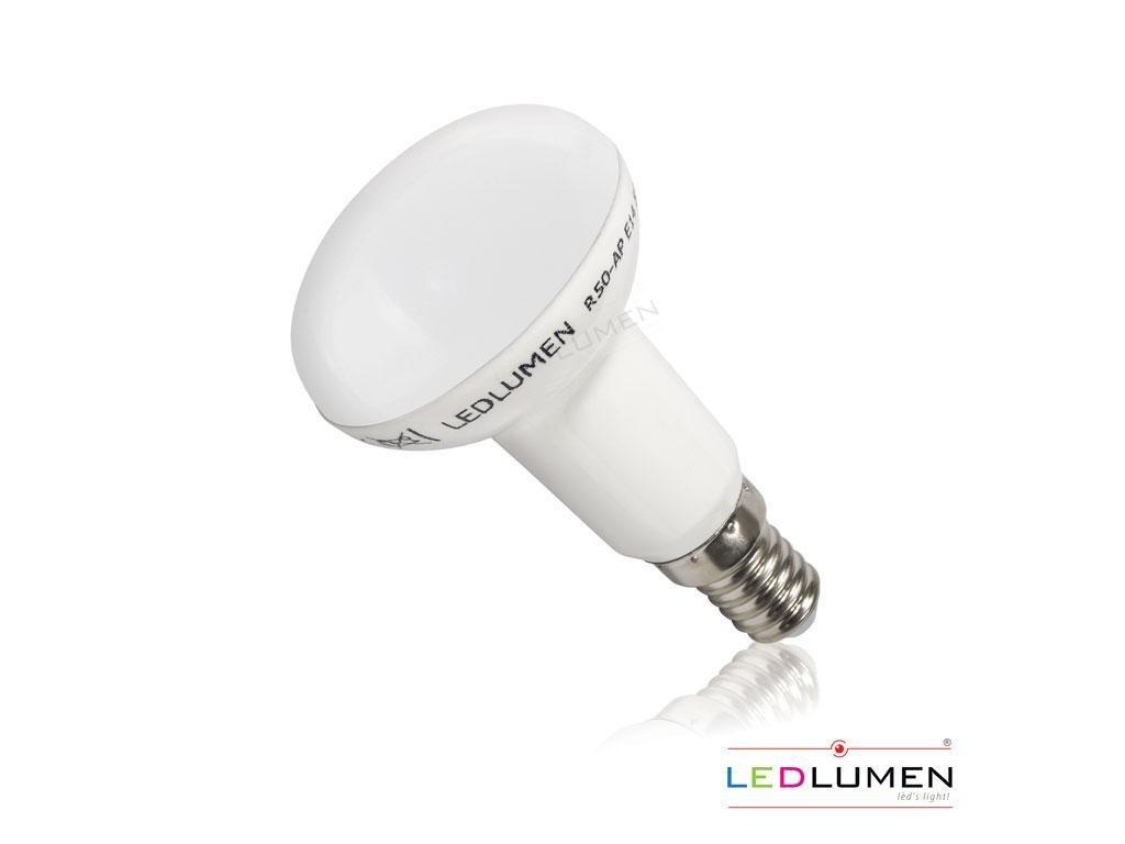 Ledlumen LED žárovka 6W 12xSMD2835 E14 590lm CCD Studená