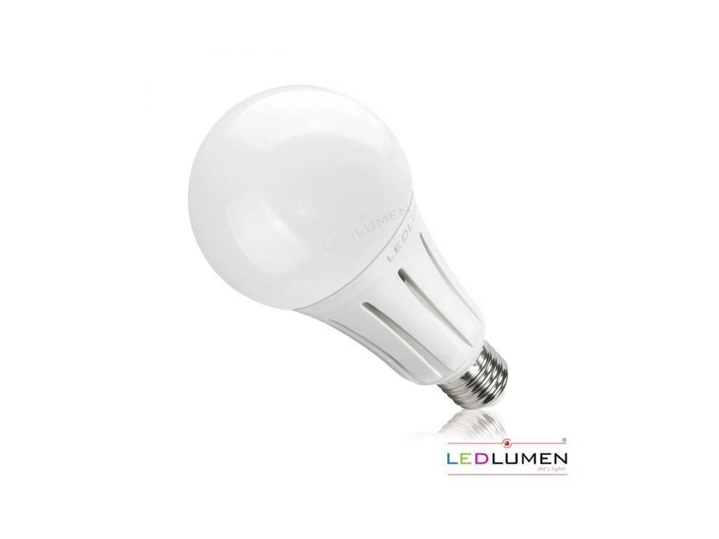 Ledlumen LED žárovka 24W 42xSMD2835 E27 2550lm CCD Neutrální