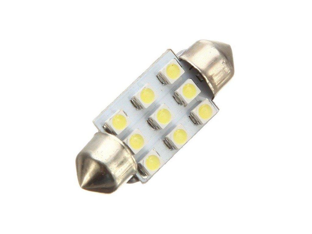 LED autožárovka LED C5W 6 SMD 1210 39mm