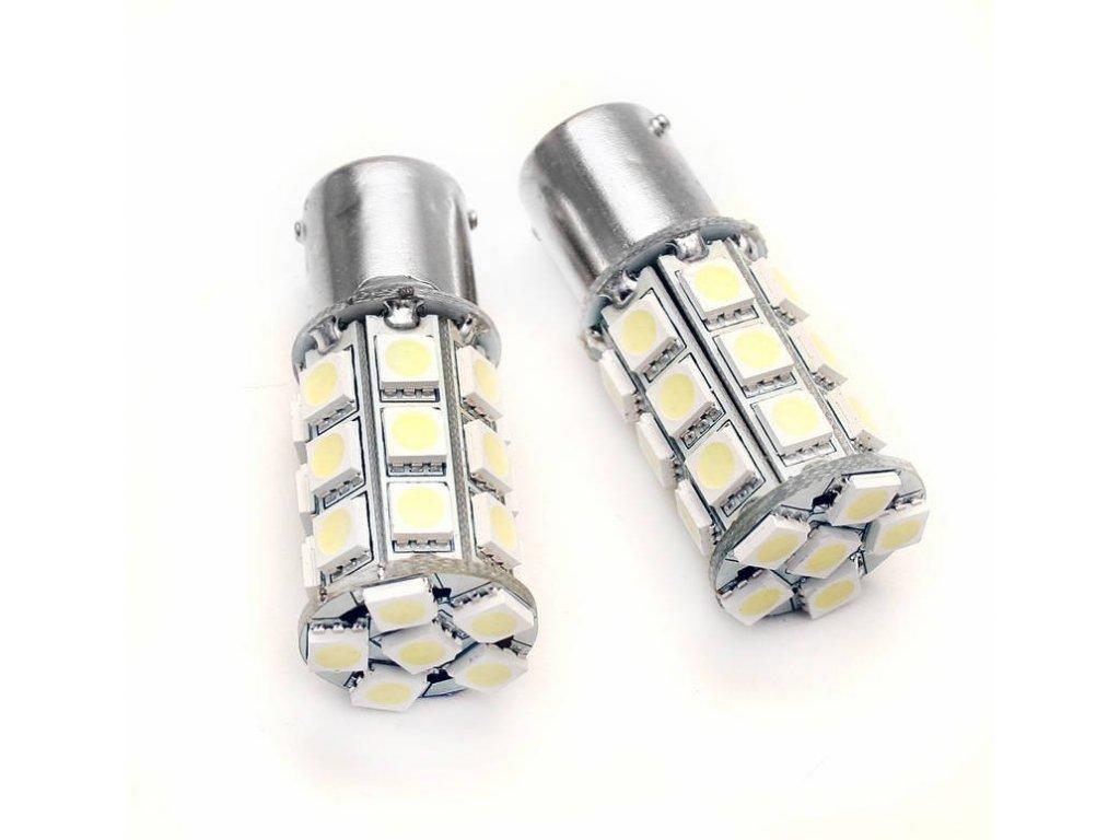eng pl Car LED Bulb BA15S 27 SMD 5050 421 1[1]