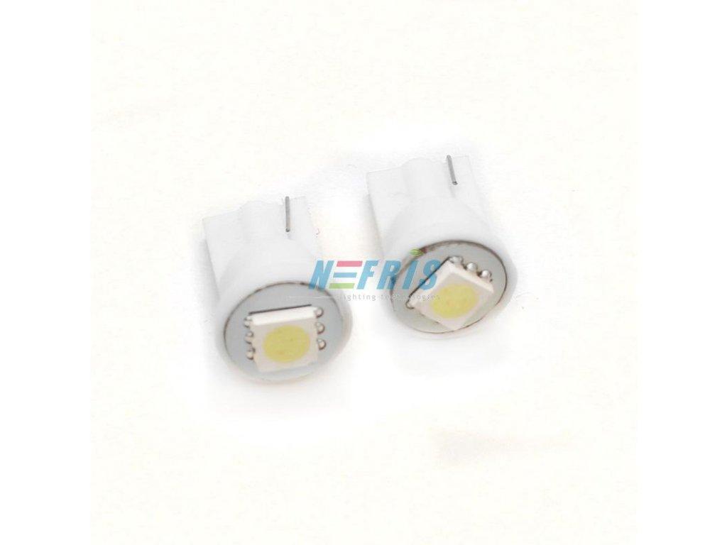 LED autožárovka LED W5W T10 1 SMD 5050