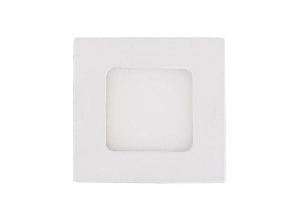 Berge LED panel vestavný 3W, 200lm, 83x83mm, 230V, CCD Studená