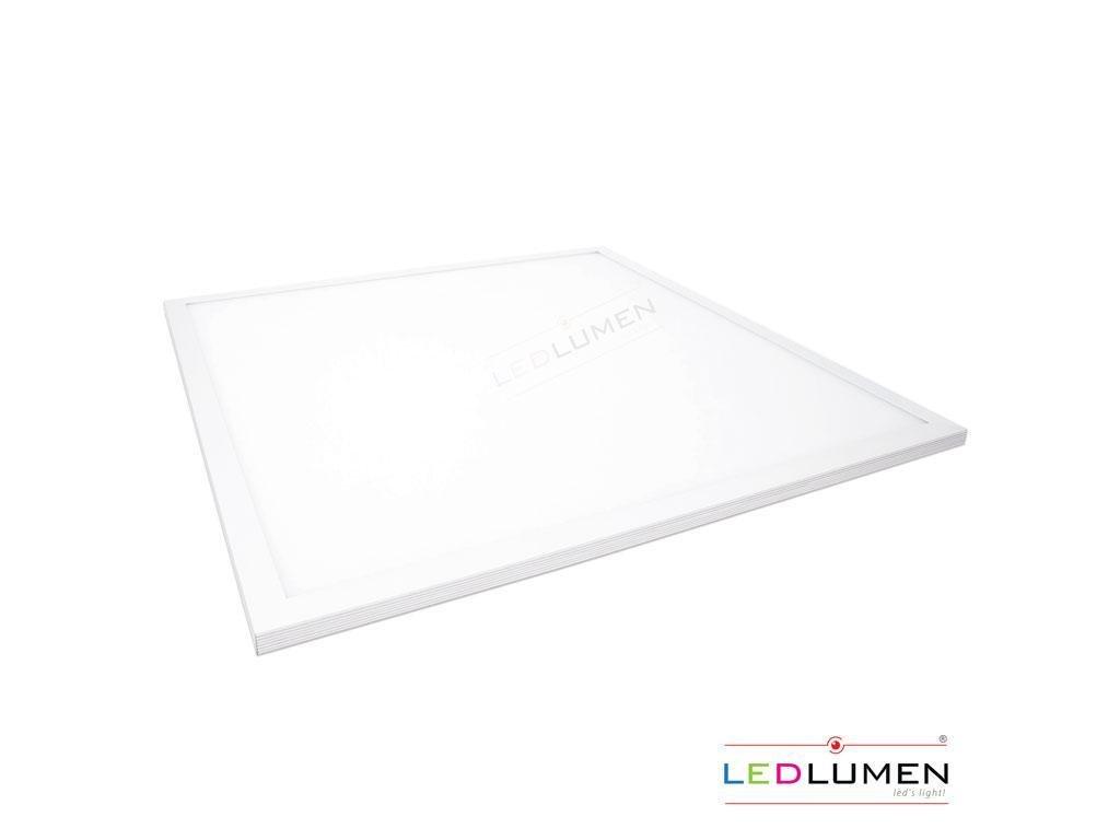 Ledlumen LED panel LP-01 40W 600x600 204xSMD4014 3200lm Teplá
